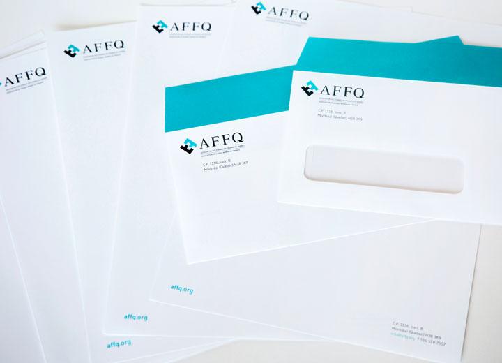 Portfolio OBNL360 - AFFQ Papeterie