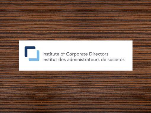 Institute of Corporate Directors (ICD)