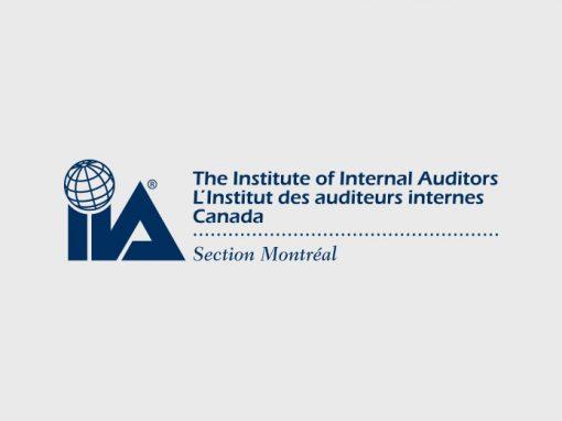 Institut des auditeurs internes – Section de Montréal