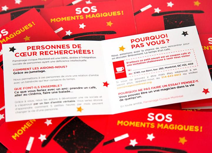 Parrainage Civique Montréal - outils de communication