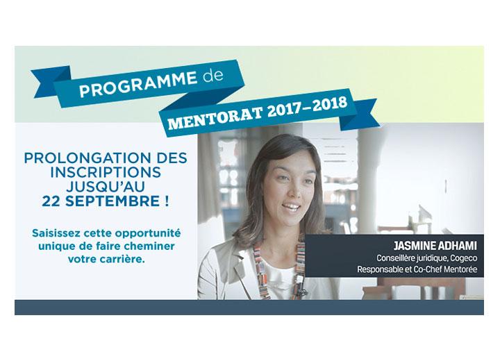 AFFQ- Programme de mentorat - Bandeau Web