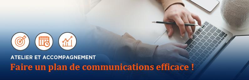 Atelier formation : faire un plan de communications efficace!